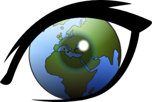 World view clipart.
