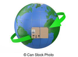 Worldwide delivery Clipart and Stock Illustrations. 2,005.