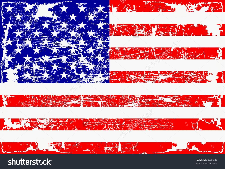 Similiar Worn American Flag Clip Art Keywords.