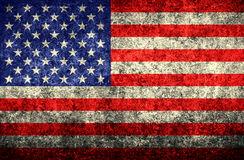 Worn American Flag Stock Illustrations.