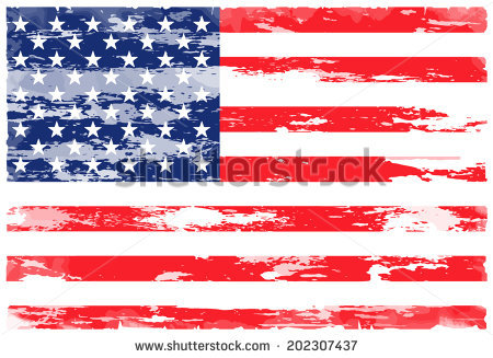 Vector American Flag Grunge Stock Vector 38324926.