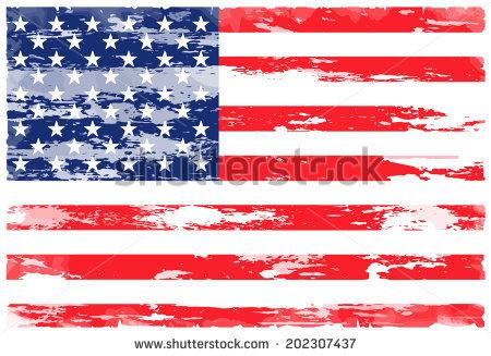 Vector American Flag Grunge Stock Vector 38324926.