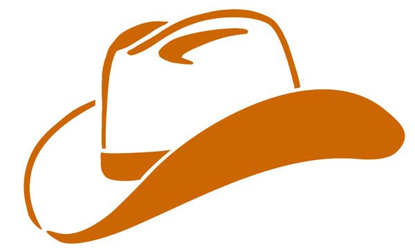 Cowboy Hat Invitations.