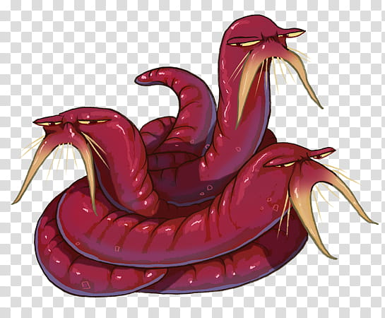 Zork Bloodworms, worn transparent background PNG clipart.