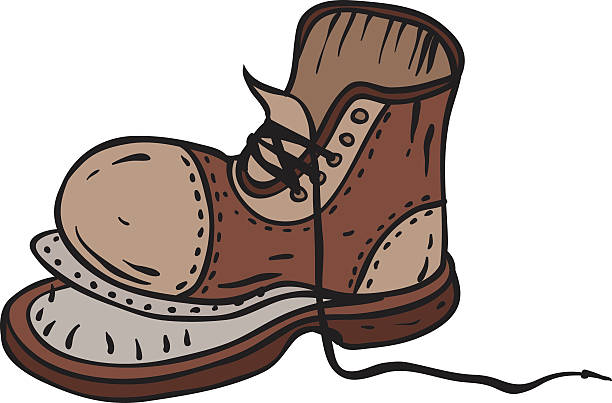Old Shoes Clipart.