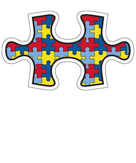 Autism Puzzle Piece Blue Neck Wear From Zazzle Clipart.