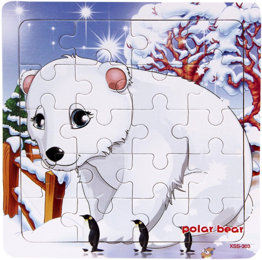 Amazon.com: Layhome Puzzle 20 Pieces Wooden Puzzles Baby.