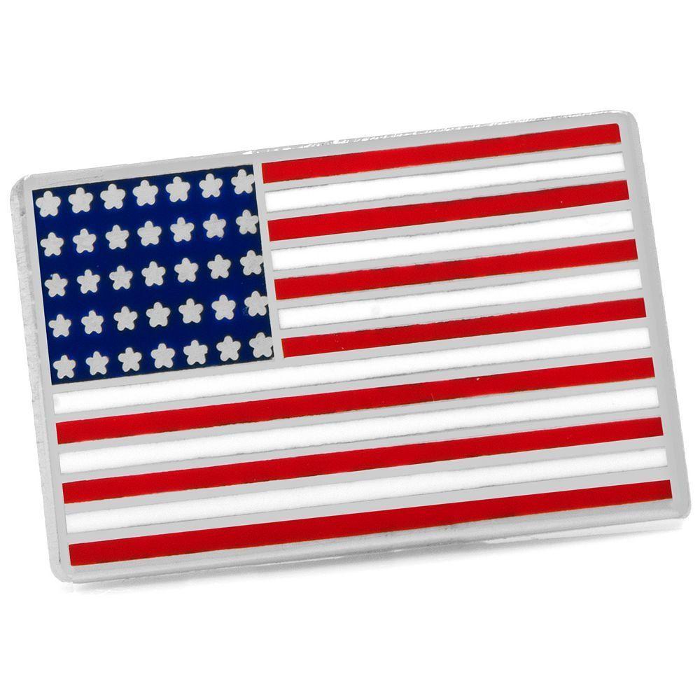 American Flag Lapel Pin.