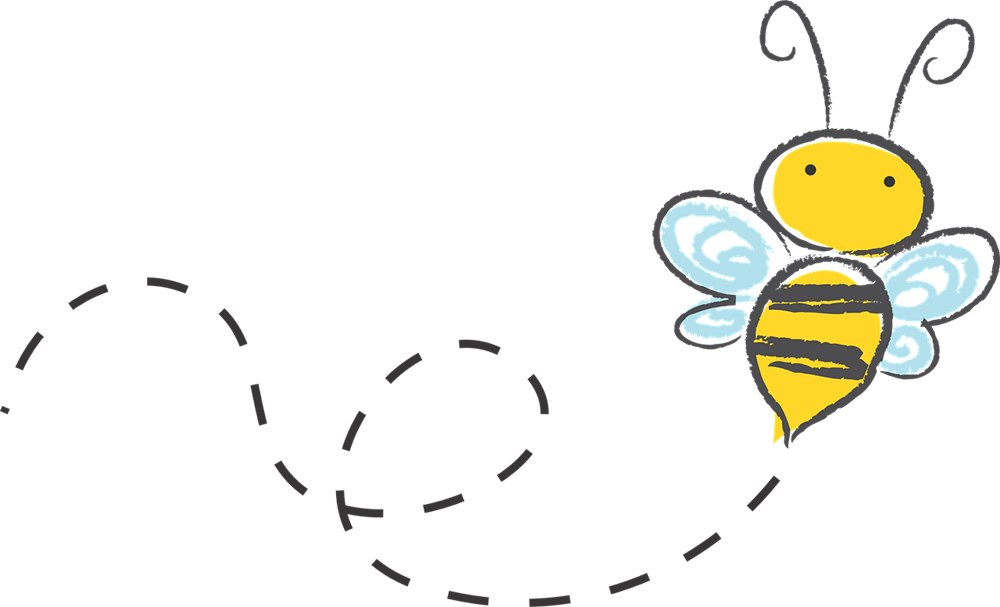 Bees clipart simple, Bees simple Transparent FREE for.