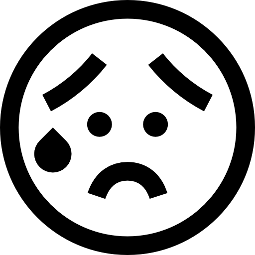 Worried Face Clipart.