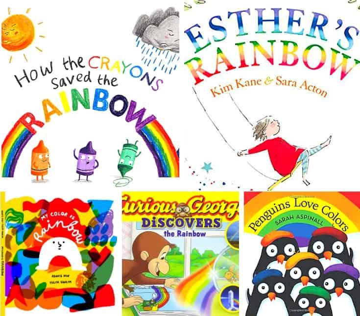 20 BRILLIANT RAINBOW BOOKS FOR KIDS.