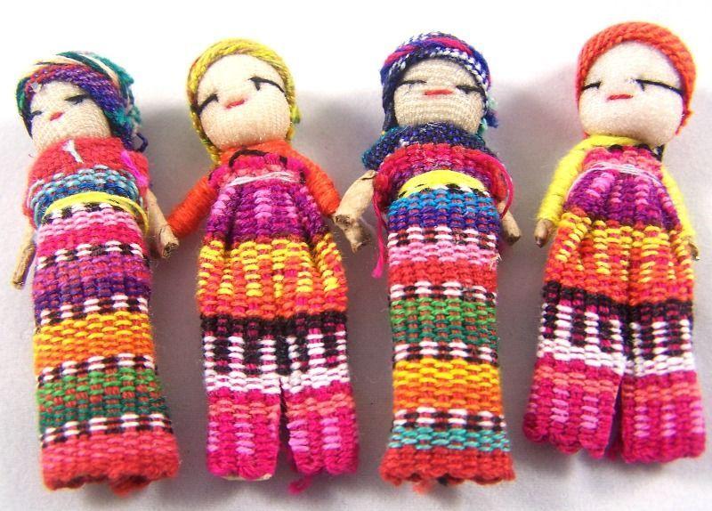 Worry Dolls, Guatemala, Central America.