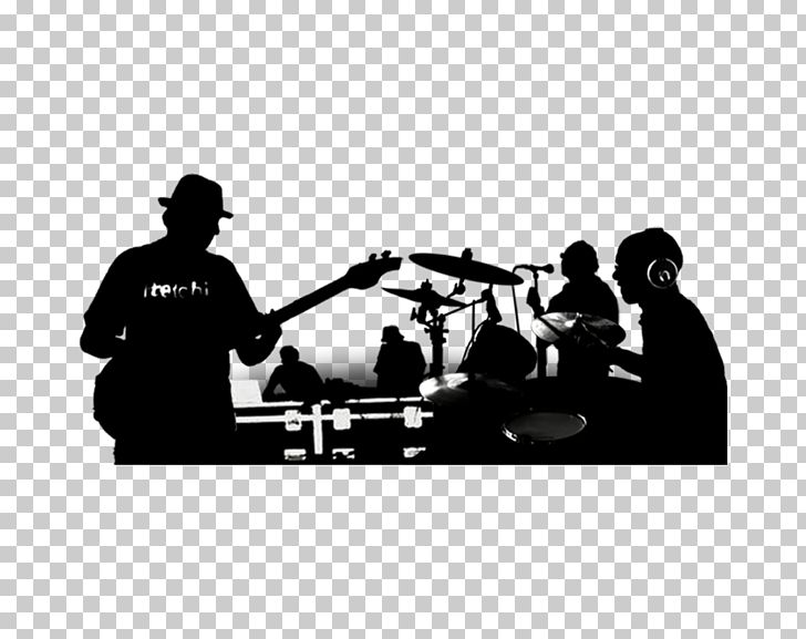 Rock Band Musical Ensemble Silhouette Christian Music PNG.