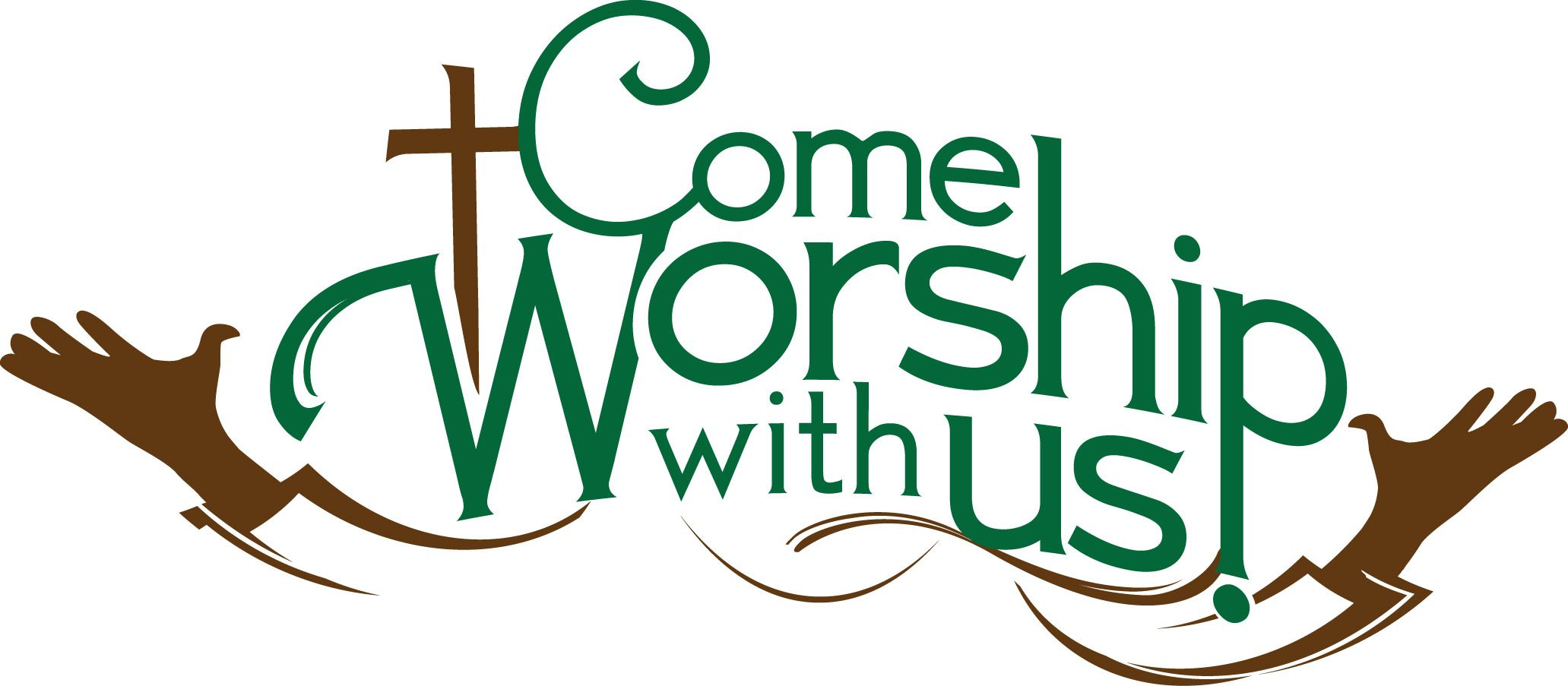 Each worship service is followed by a Fellowship Hour with the first.