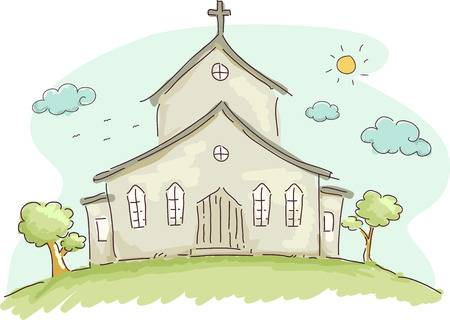 2,950 Church Service Cliparts, Stock Vector And Royalty Free Church.