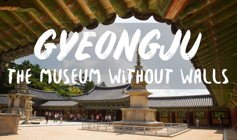 Gyeongju, or the museum without walls; the most beautiful.