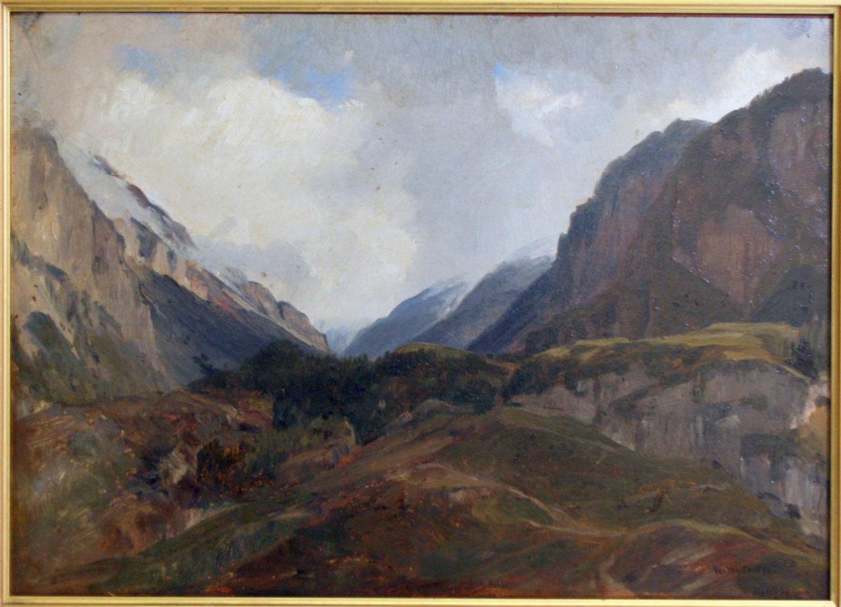 Thomas Worthington Whittredge.