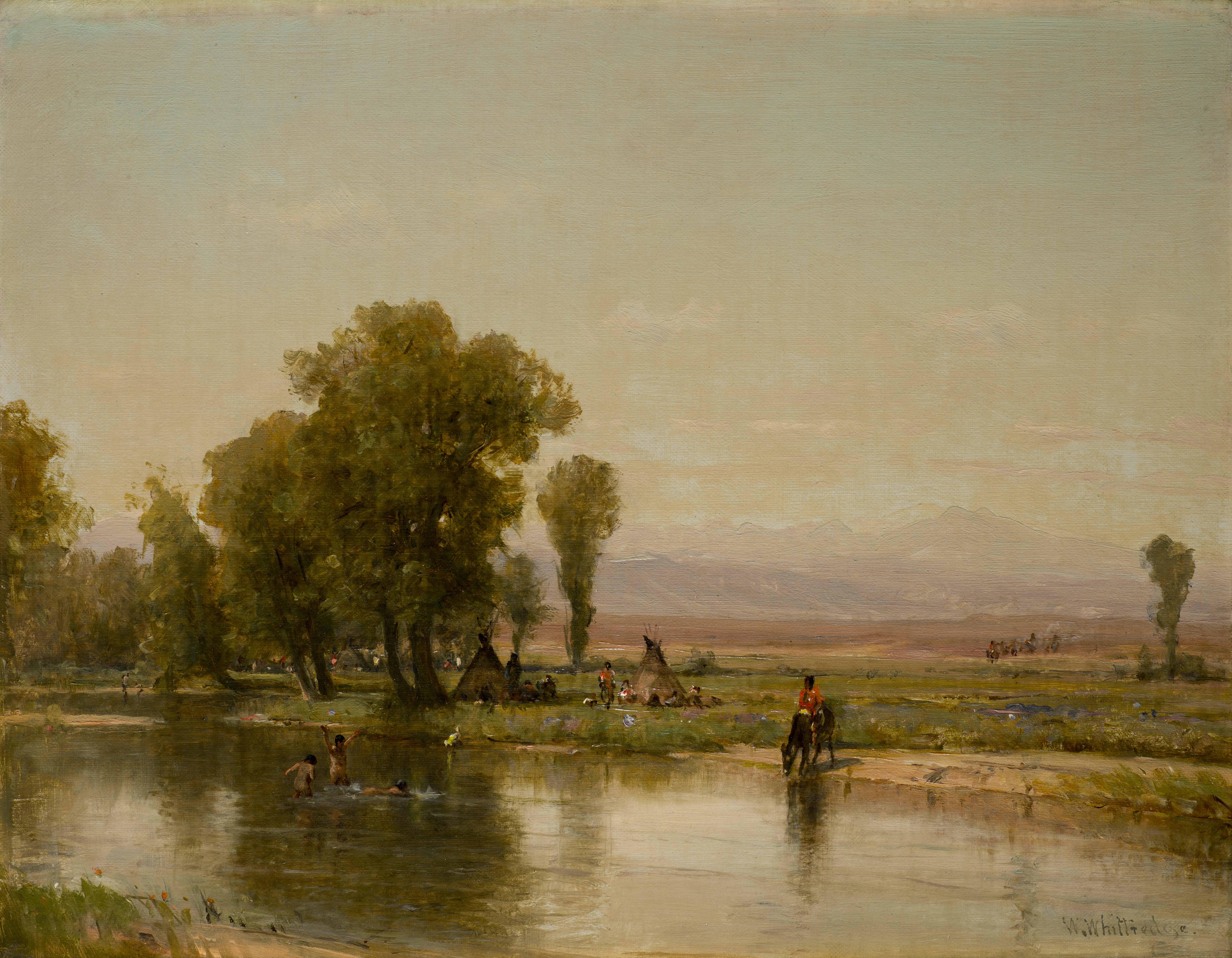 Worthington Whittredge: An artist's draw to Colorado.
