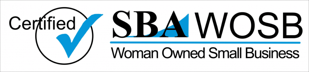 Woman Owned Small Business.