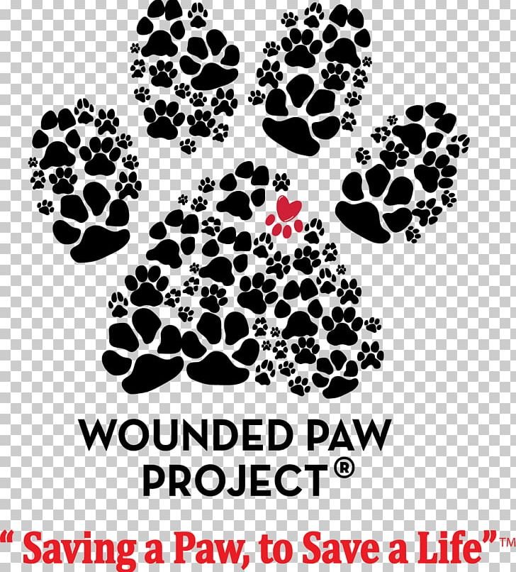 United States Paw Wounded Warrior Project Military Dog PNG.