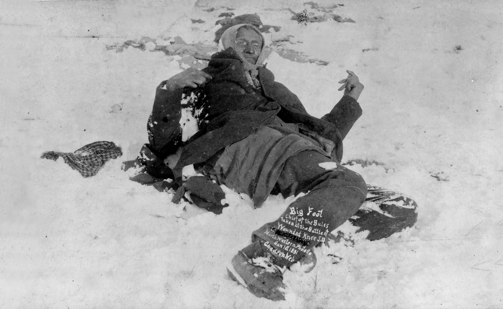 Public Domain Clip Art Photos and Images: Wounded Knee.