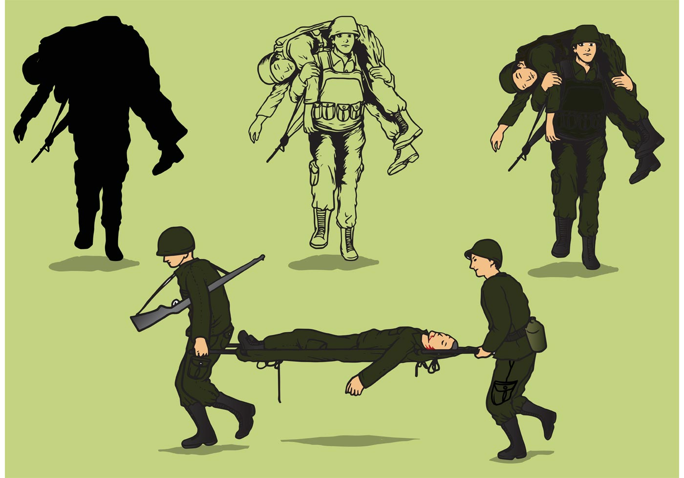 Wounded soldier clipart 20 free Cliparts | Download images on