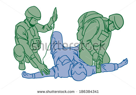 Wounded Soldier Stock Vectors, Images & Vector Art.