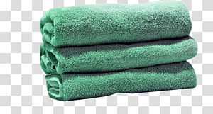 Green Grass, Towel, Cotton, Textile, Woven Fabric, White.