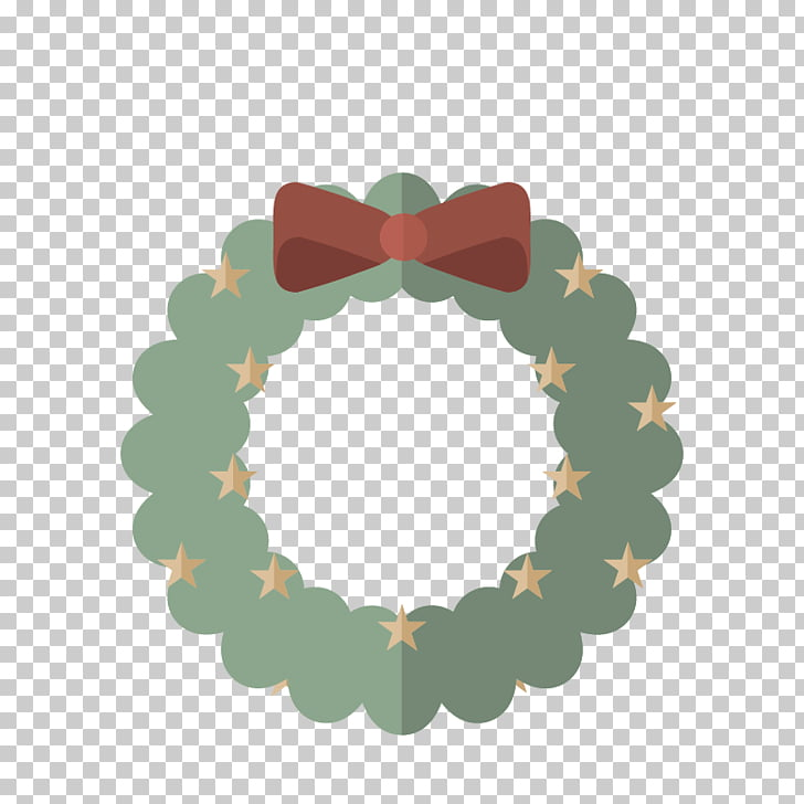 Drawing Crown Christmas Garland, Cute star garland PNG.
