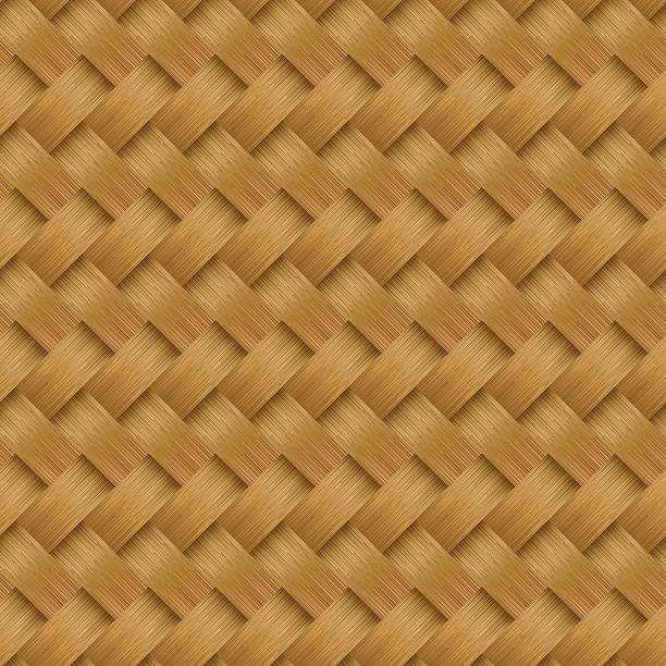 Woven Bamboo Clip Art, Vector Images & Illustrations.