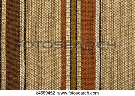 Stock Photo of Retro striped woven woolen textile background or.