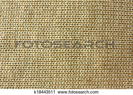 Stock Photography of Tan Knitted Tweed Fabric Background k18443511.