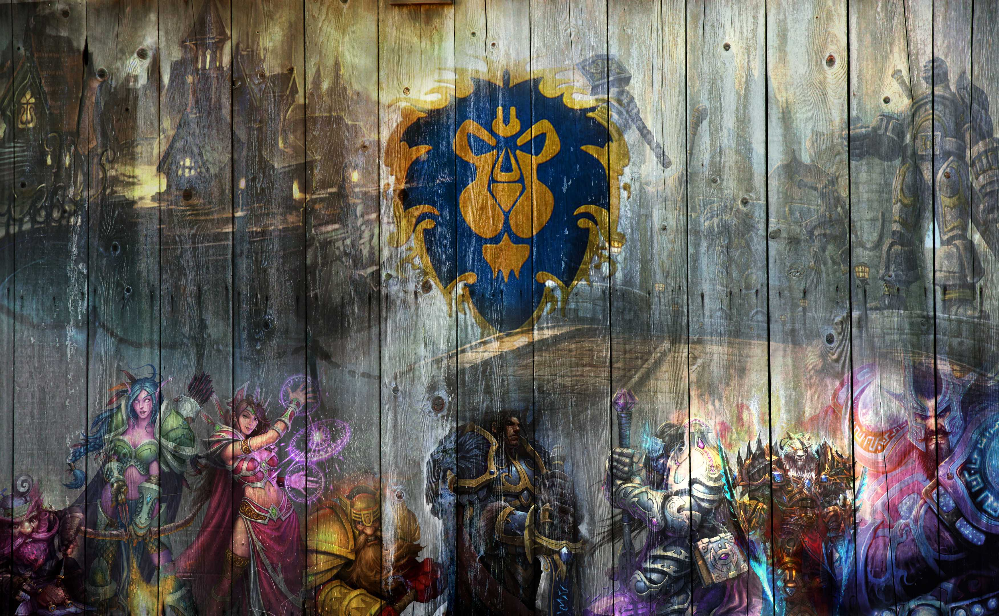 Wow Wallpaper Alliance Wallpapers 1080p : Games Wallpaper.