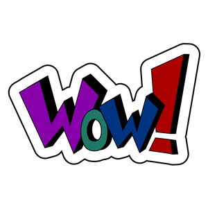 wow clipart, cliparts of wow free download (wmf, eps, emf.