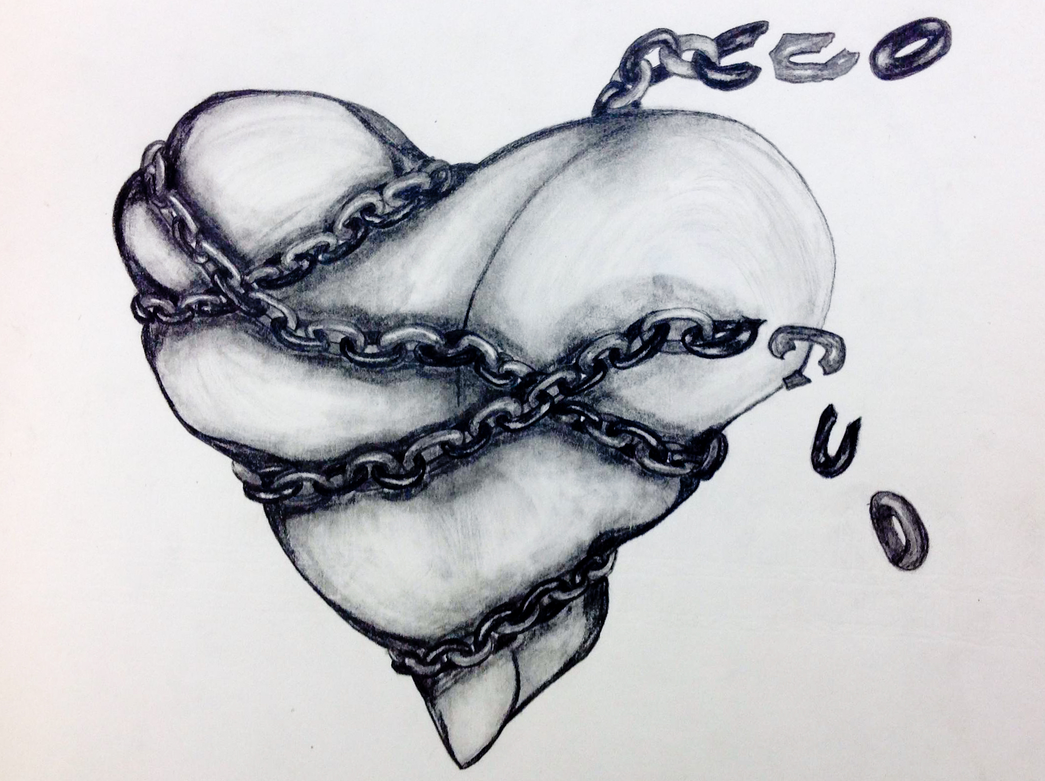 Broken Chain Drawing at GetDrawings.com.