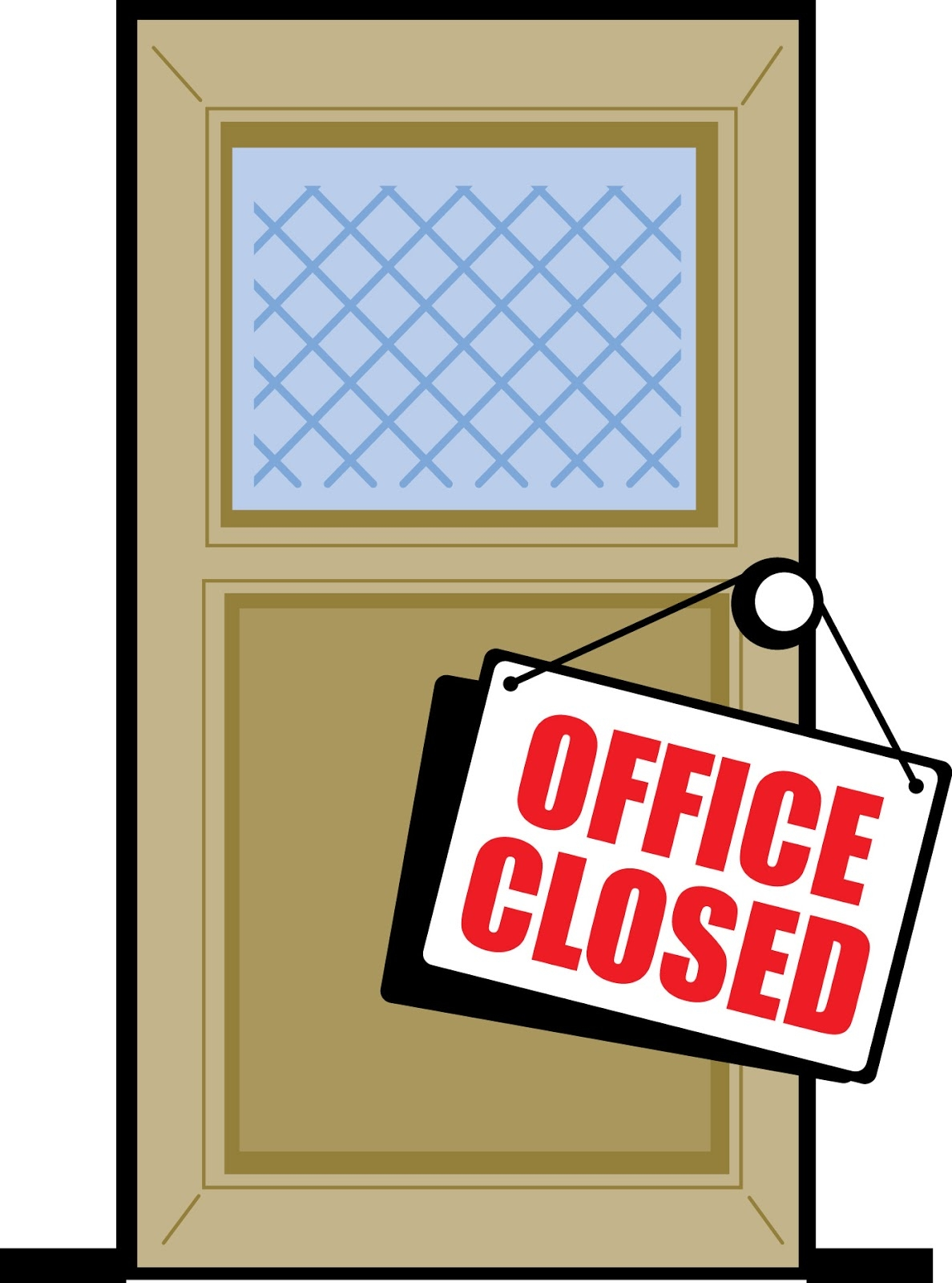 Office Closed Clip Art.