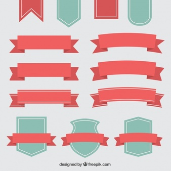 Ribbon Vectors, Photos and PSD files.