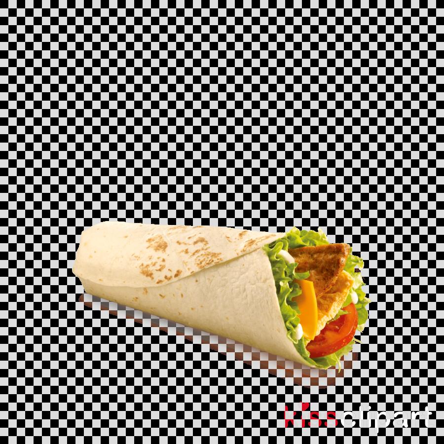 food sandwich wrap dish burrito cuisine clipart.