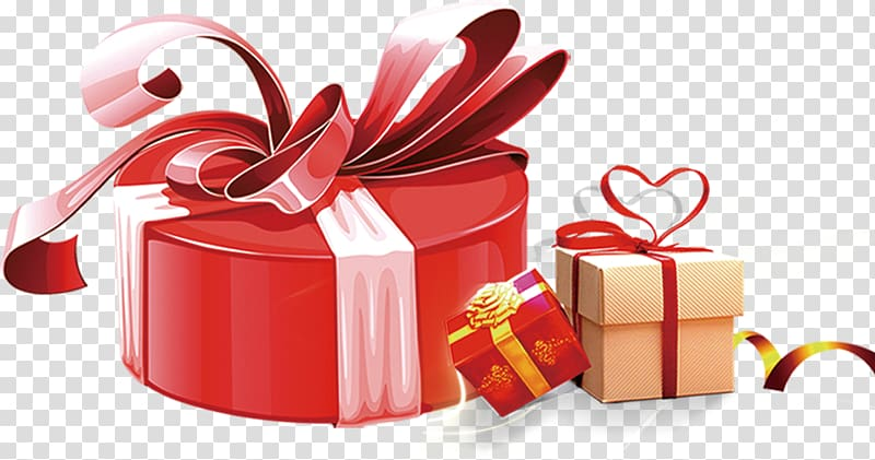 Gift wrapping , Gift Gift Box transparent background PNG.