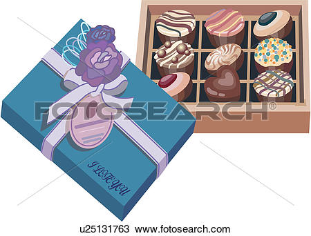Clipart of wrapped, sweet, wrapper, bonbon, confection, candy.