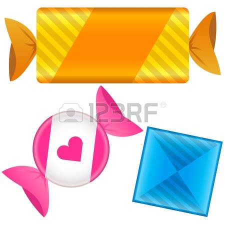2,943 Candy Wrapper Stock Vector Illustration And Royalty Free.