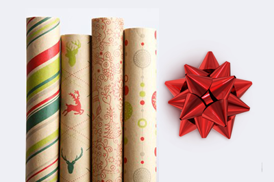 Gift wrapping,Cinnamon stick,Present,Wrapping paper,Paper,Art paper.