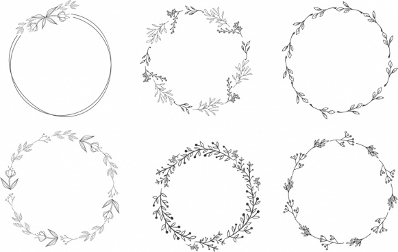 Floral wreath free vector download (9,180 Free vector) for.