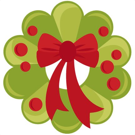 Wreath Clipart Cute.