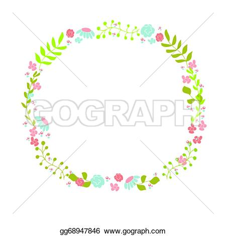 Wreath Clipart Cute