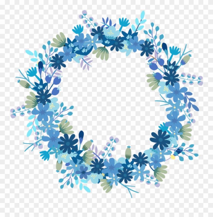 mq #blue #flowers #flower #garden #nature #circle.
