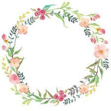 images for floral wreath with transparent background.