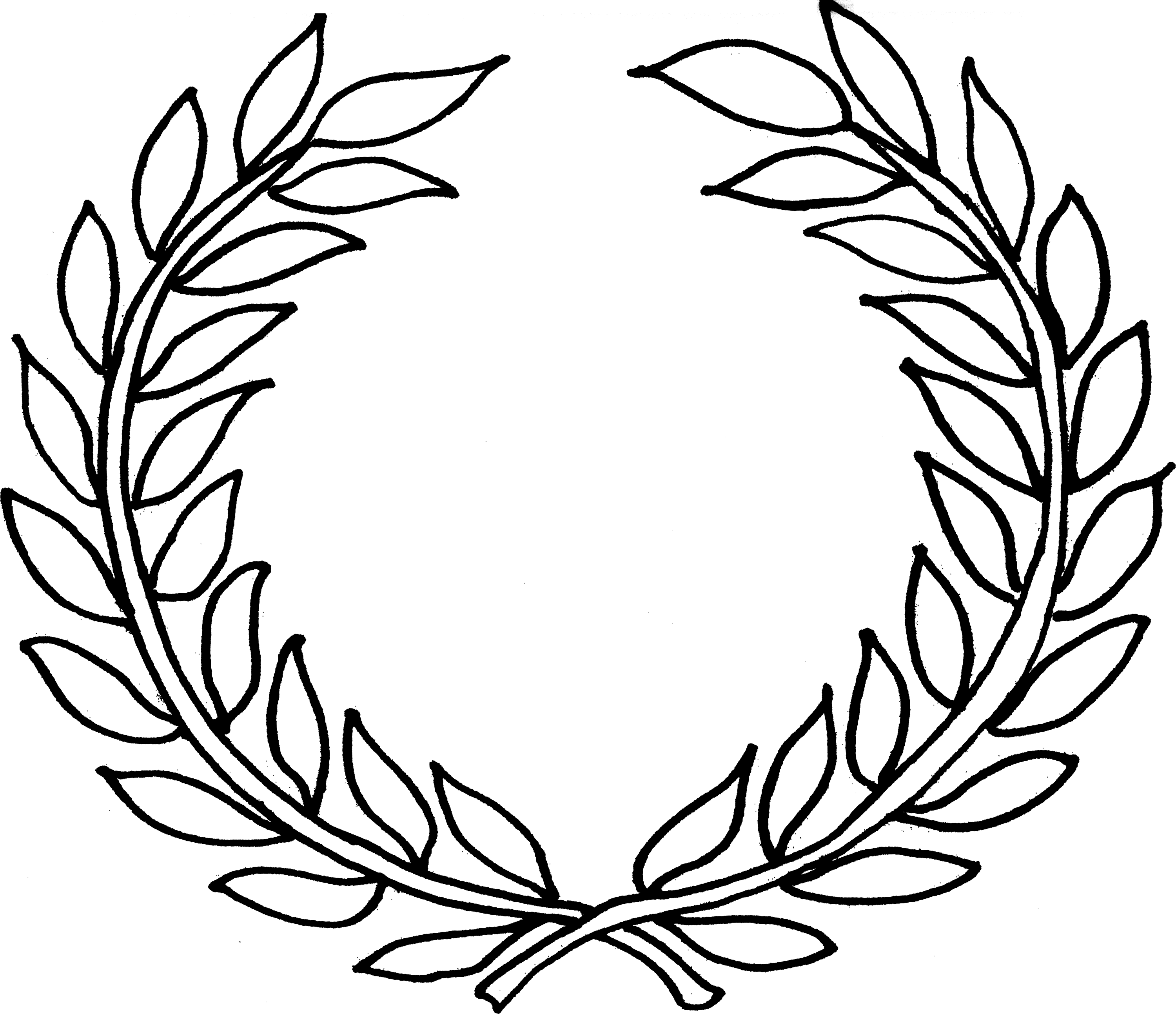 Free Wreath Black And White Clipart, Download Free Clip Art.