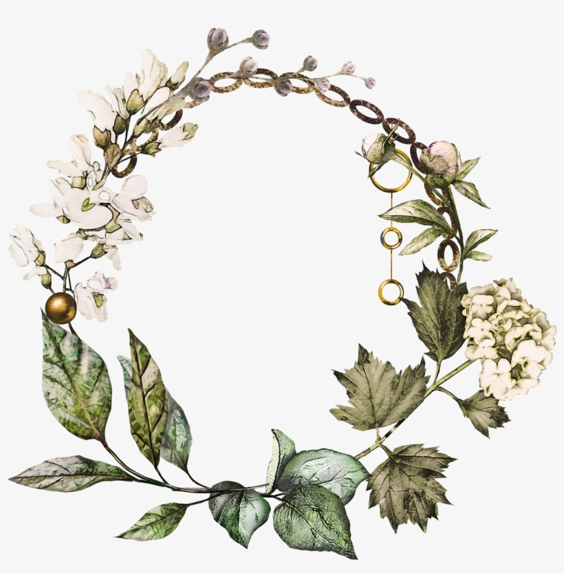 Svg Royalty Free Library Ivy Wreath Clipart.