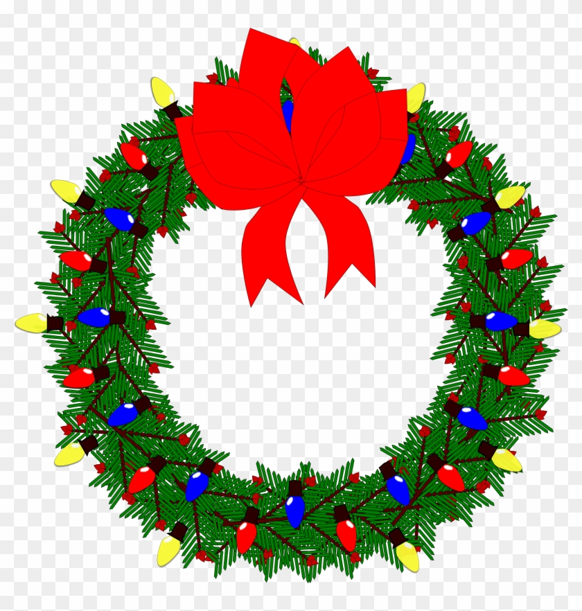 Christmas Wreaths Clip Art Christmas Christmas Day.